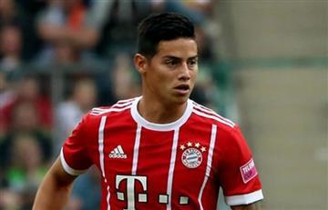 James Rodríguez: Su primer gol con el Bayern Múnich