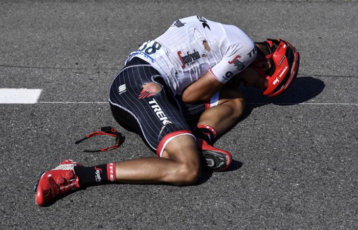 Jarlinson Pantano sufre dura caída ¿Cómo se encuentra?
