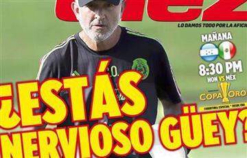 """Juan Carlos Osorio: Prensa de honduras lo cuestiona, """"¿Estás nervioso güey?"""""""