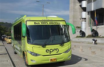 Medellín: Circula el primer bus 100% eléctrico en la capital Antioqueña