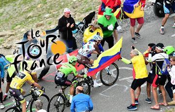Tour de Francia celebra con Colombia el 20 de Julio