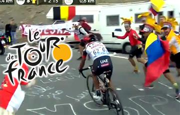 Tour de Francia: En video el increíble apoyo de los colombianos