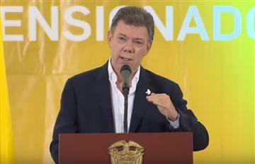 Video: Cuando Santos prometió a los pensionados bajar el aporte a salud