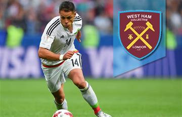 'Chicharito' Hernández deja el Leverkusen y llega al West Ham