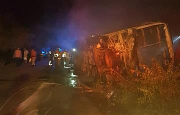 Guajira: Cinco muertos y 43 heridos deja accidente de tránsito