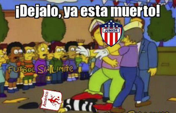 América perdió contra el Junior y estos fueron los mejores memes