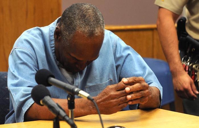 OJ Simpson obtiene libertad condicional tras nueve años en prisión