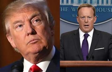 Trump enfrenta nueva crisis con la renuncia de su portavoz