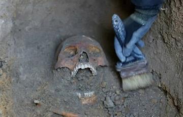 Bogotá: Hallan restos de humanos prehispánicos