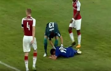 David Ospina y el impresionante golpe a Pedro