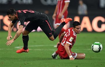 James Rodríguez: Bayern Múnich no pasa por un buen momento