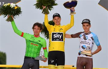 Tour de Francia: Rigoberto Urán se une a la historia del ciclismo mundial