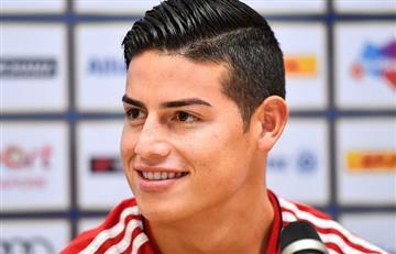 James Rodríguez: Dos semanas con el Múnich y así se siente el colombiano