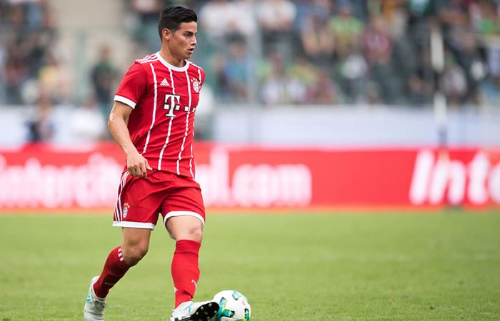 James Rodríguez: Su golazo con el Bayern del que todos hablan