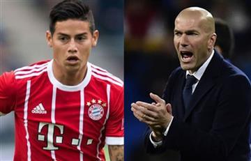 James Rodríguez: ¿Zidane se molestó porque le preguntaron por el colombiano?