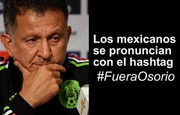 Juan Carlos Osorio: Afición mexicana quiere afuera al colombiano