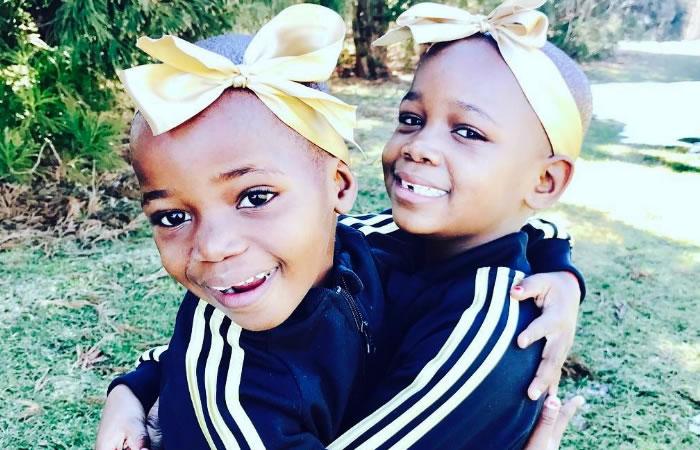 Esther y Stella, hijas adoptivas de Madonna. Foto: Instagram.