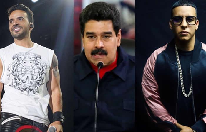 Maduro recibe dura respuesta de Luis Fonsi y Daddy Yankee