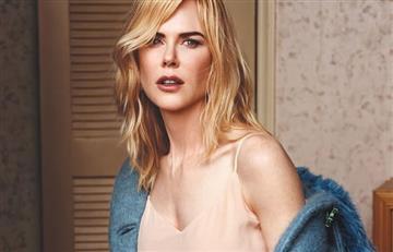 Nicole Kidman a sus 50 años subió la temperatura con provocativas fotos
