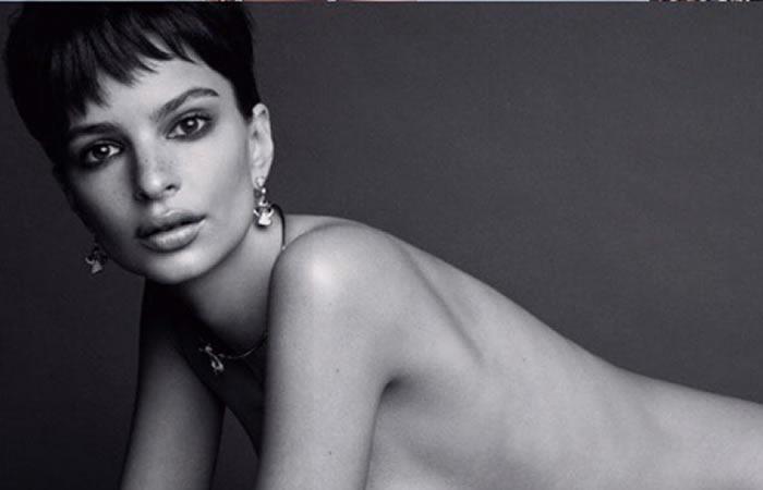Emily Ratajkowski criticada por su impactante desnudo