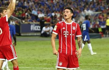 ¿James Rodríguez el consentido de Ancelotti en el Bayern Múnich?