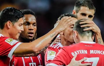 James Rodríguez y el partidazo que se jugó en la victoria del Bayern Múnich