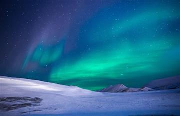NASA: Graban asombrosa aurora boreal