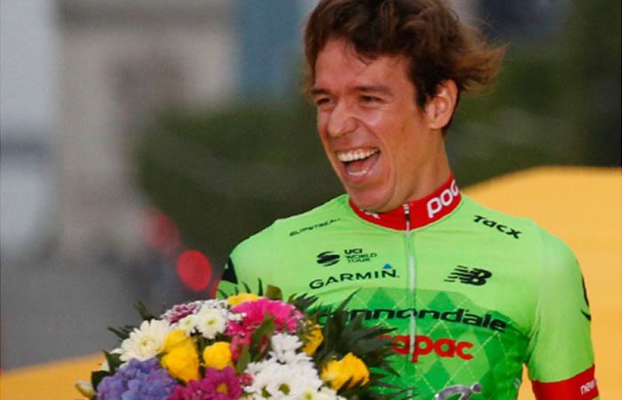 Rigoberto Urán compara el ciclismo con la mujer