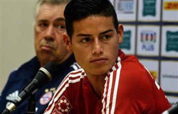 James Rodríguez cansado de los rumores de la prensa, salió en defensa propia