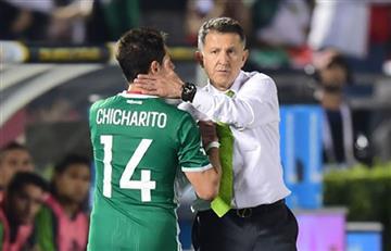 Juan Carlos Osorio es defendido por 'Chicharito' Hernández