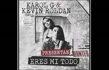 """Karol G presenta """"eres mi todo"""" junto a Kevin Roldán"""