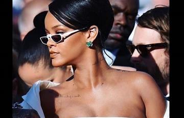 Rihanna causó impacto en premier de película 'Valerian y la ciudad de los mil planetas'