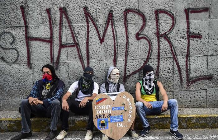 Venezuela en huelga por 48 horas