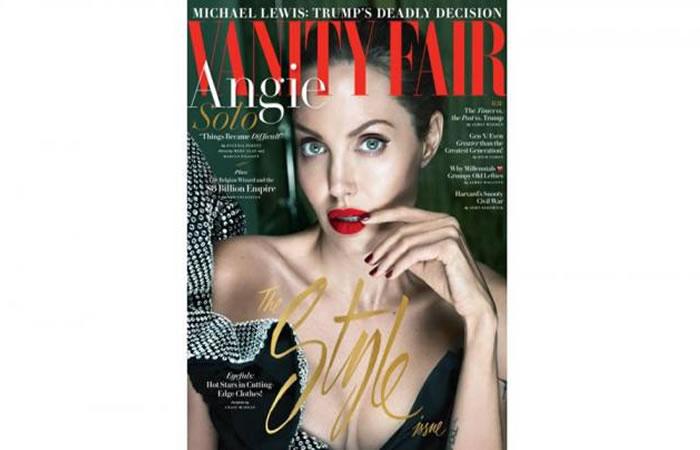 Angelina Jolie reaparece como