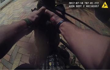 Facebook: Estremecedor vídeo muestra la lucha entre un policía y un cocodrilo