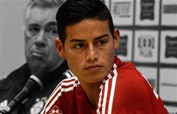 James Rodríguez: Para rematar pierde con el Bayern Múnich
