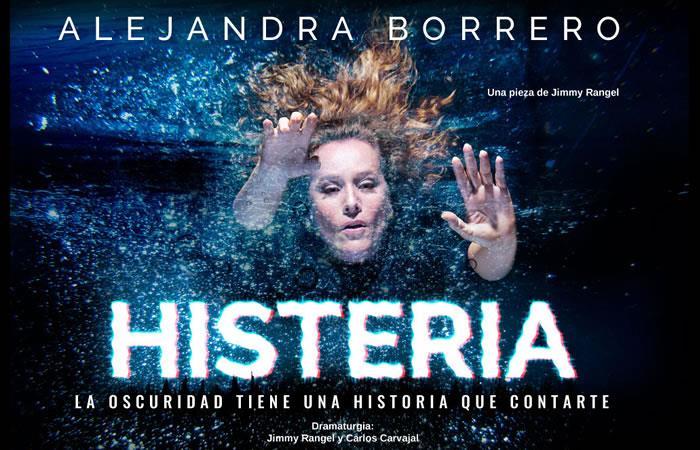 Alejandra Borrero llega con teatro de inmersión en 'Histeria'