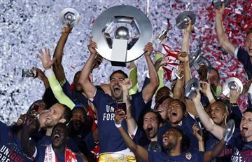 Falcao García y el Mónaco se preparan para alzar otro título