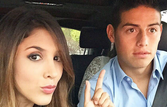 James Rodríguez: Daniela Ospina estaría saliendo con un jugador de Santa Fe