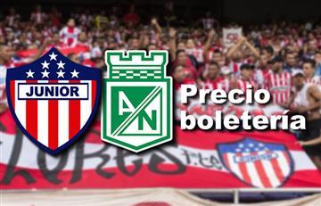 Junior vs. Nacional: Precio boletería por la fecha 5 de la Liga Águila
