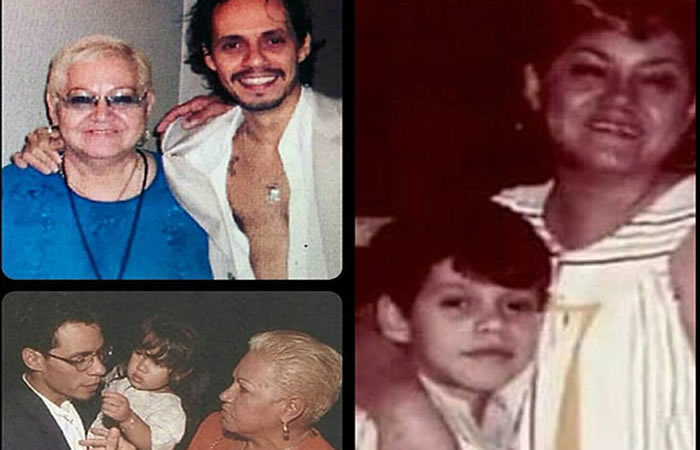 Marc Anthony: Su madre falleció en Puerto Rico
