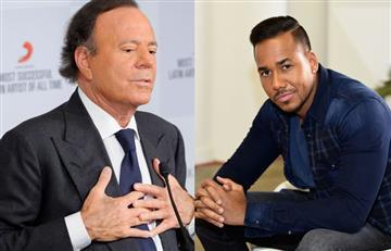 Romeo Santos dedica canción a las partes íntimas de Julio Iglesias