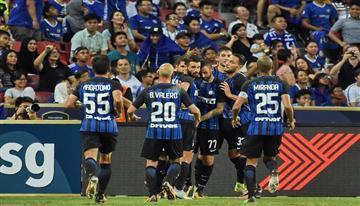 El increíble autogol del Inter de Milán