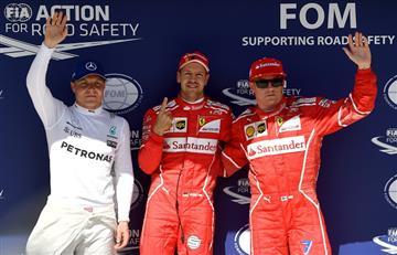 Sebastian Vettel logró la Pole Position