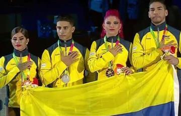 Colombia completa ocho oros y repite título mundial en salsa