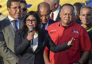 """Delcy Rodríguez: """"La Constituyente no es para aniquilar al adversario"""""""