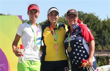 Sara López ganó oro para Colombia en los World Games 2017