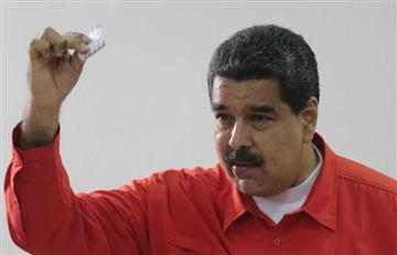 Nicolás Maduro, el primero en votar para la Asamblea Constituyente