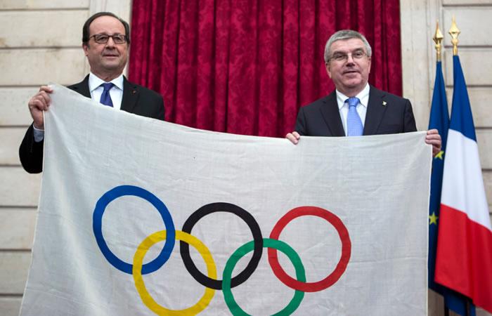Juegos Olímpicos. Foto:AFP