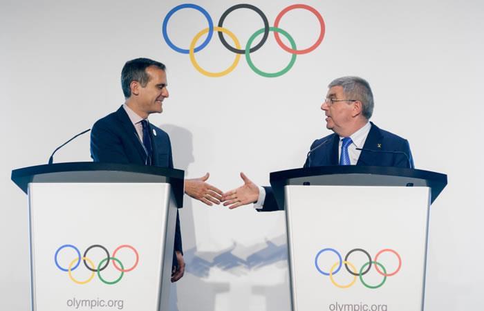 Los Ángeles será la sede oficial de los Juegos Olímpicos 2028